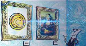آثار هنری رمزنگاری شده واجد ارزش تبادلی در بازار سرمایه هستند.