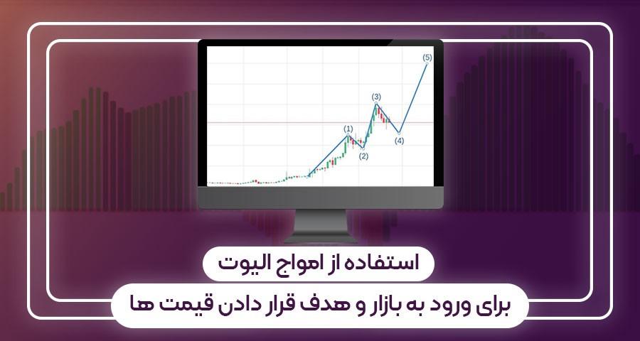 استفاده از امواج الیوت برای ورود به بازار و هدف قرار دادن قیمت ها