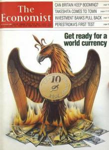اکونومیست در سال 1988 اعلام کرد: تا سال 2018 منتظر ظهور یک ارز جهانی باشید ، اگر علاقه مند به کسب اطلاعت در این زمینه هستید با ما بمانید.