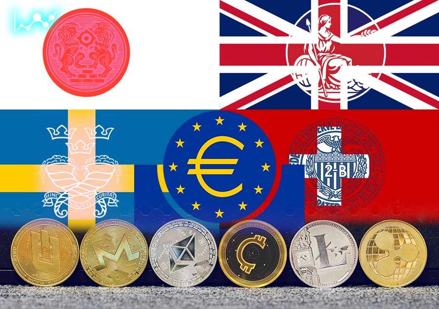 بانک های مرکزی کشورهای بزرگ جهان با هم افزایی یکدیگر تحقیقات گسترده ای را آغاز کرده اند