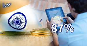 نتایج بدست آمده نشان می دهد بیش از 87 درصد از دارندگان رمزارز در هند، از حداقل تحصیلات عالی و دانشگاهی برخوردار هستند