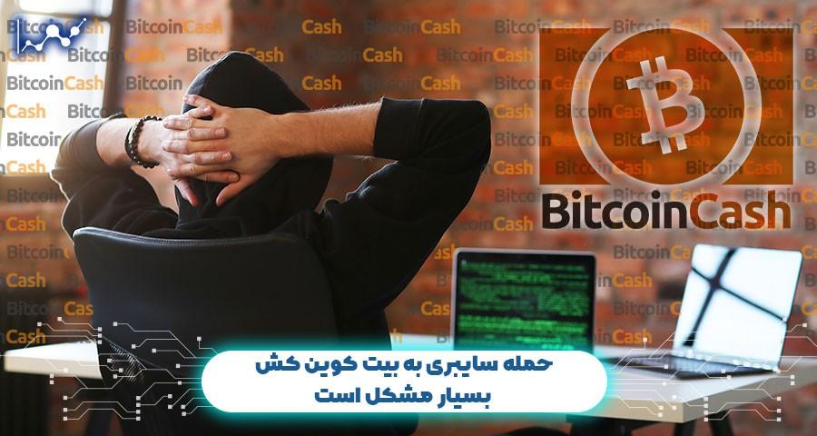 حمله سایبری به بیت کوین کش بسیار مشکل است