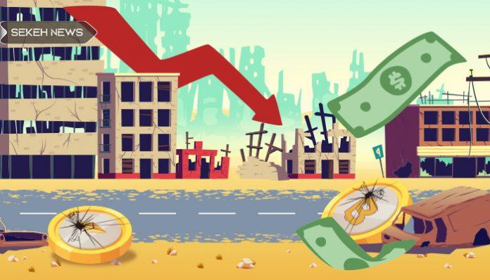 سقوط بازار رمزارز 10 میلیارد دلار را لیکوئید کرد