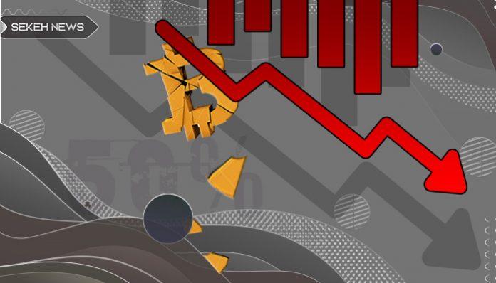 سقوط سطح تسلط بیت کوین به 50 درصد