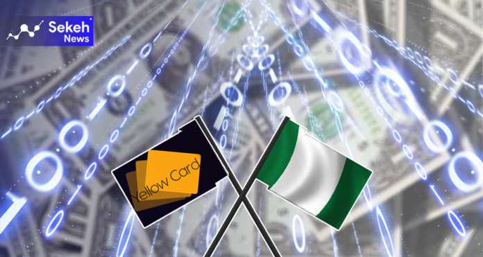 تراکنش 165 میلیون دلار رمز ارز توسط شرکت «کارت زرد» نیجریه