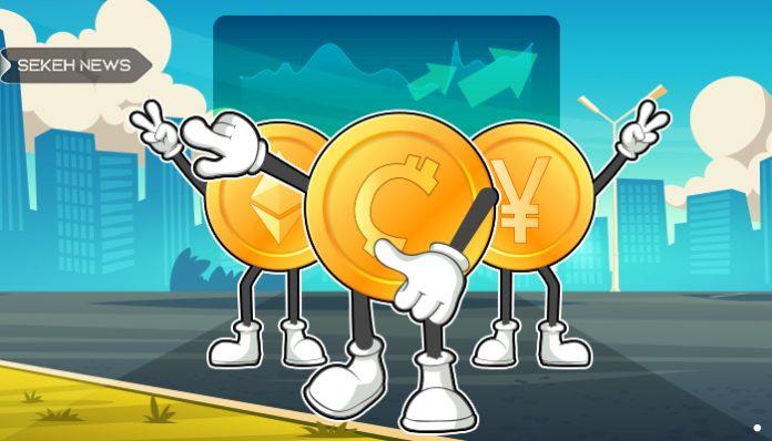 صعود ارزش بازار رمزارز ها و کاهش نرخ تسلط بیت کوین