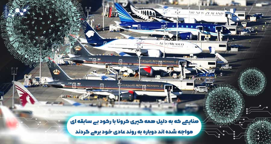 صنایع هواپیمایی، گردشگری