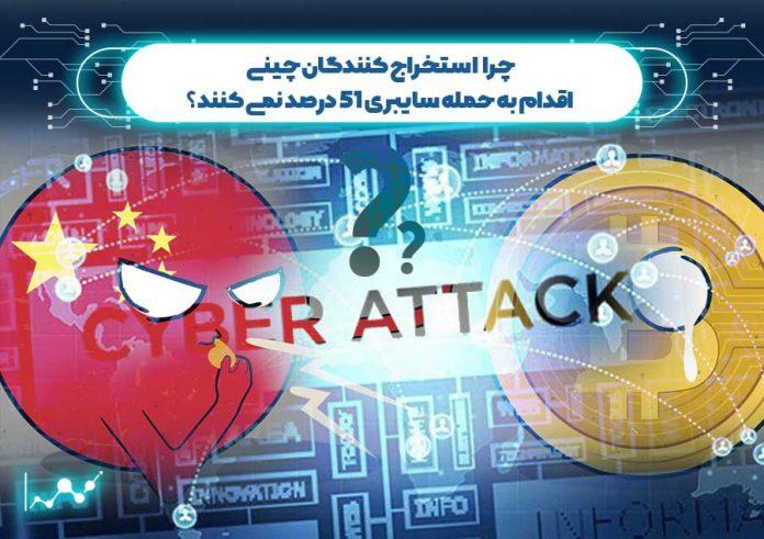 حمله سایبری 51 درصد
