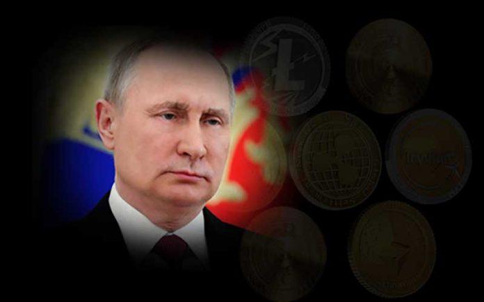 پوتین و حمایت روسیه از رمزارزها