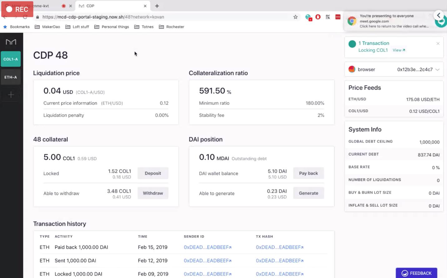 ابزار جدید MakerDAO برای پرداخت وام با استفاده از توکن