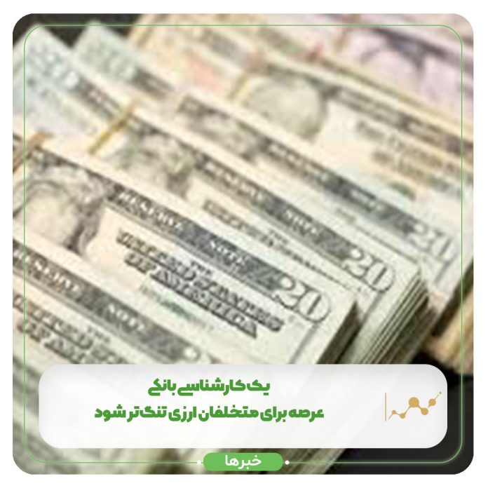 یک کارشناسی بانکی: عرصه برای متخلفان ارزی تنگتر شود