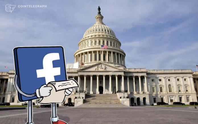 فیسبوک برای لیبرا با کنگره آمریکا همکاری میکند