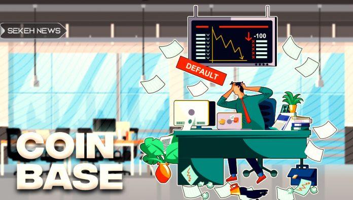 سقوط سهام کوین بیس و شرکت های مرتبط با رمزارز
