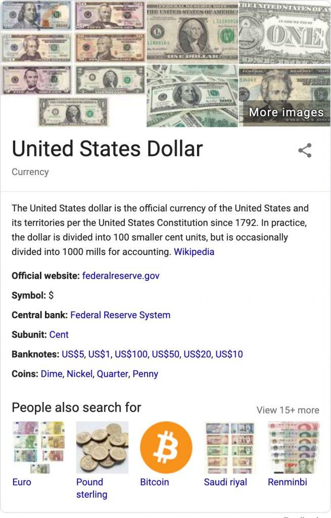 محبوبیت بیت کوین در سرچ گوگل