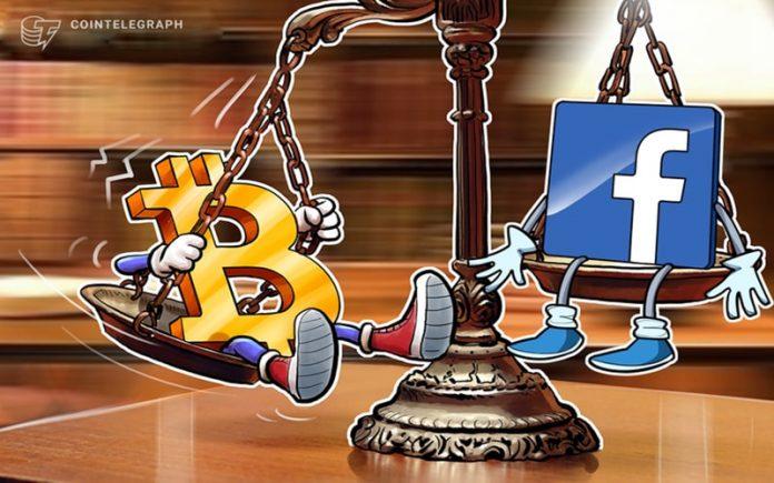 فیسبوک عامل افزایش قیمت بیت کوین نیست!